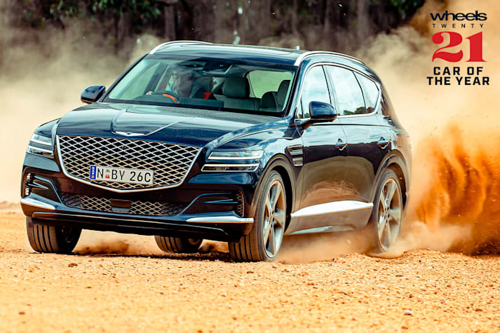 Genesis GV80 Wheels Car of the Year 2021 results