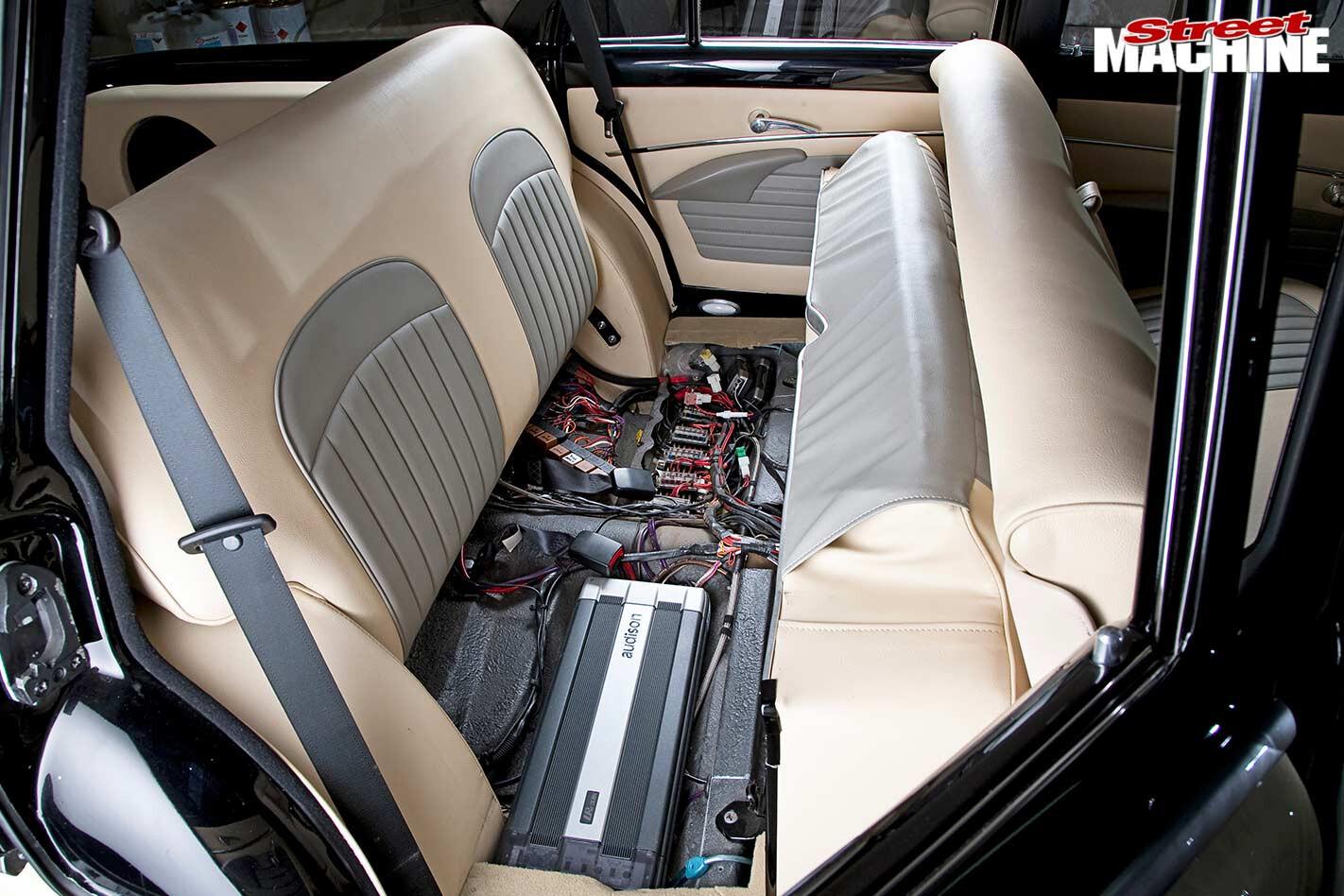 Holden FC station sedan interior