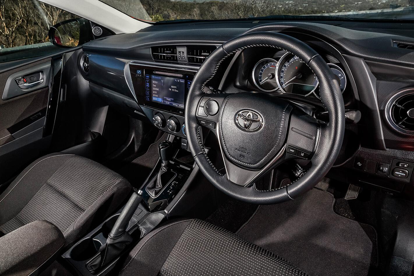 Hatchback Three Way Toyota Corolla Interior Jpg