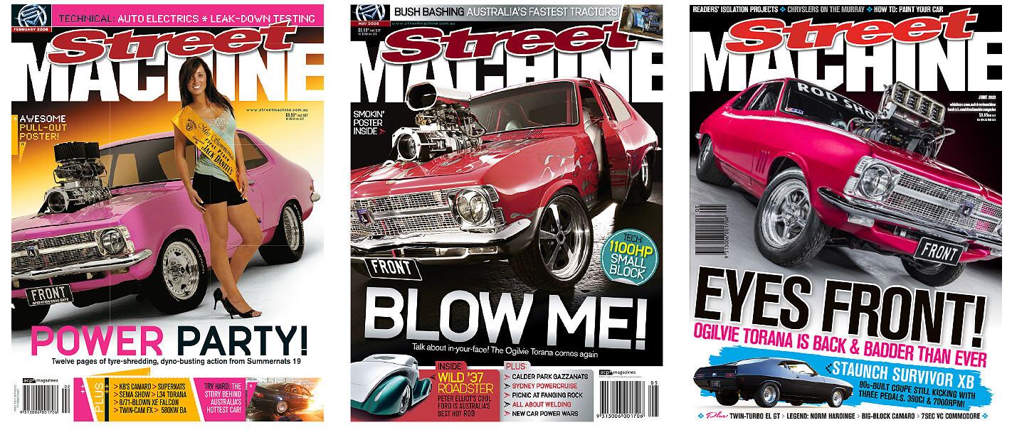 Street Machine magazines