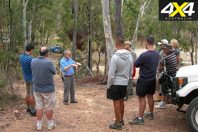 Doing a 4WD training course is a great idea before your first trip.