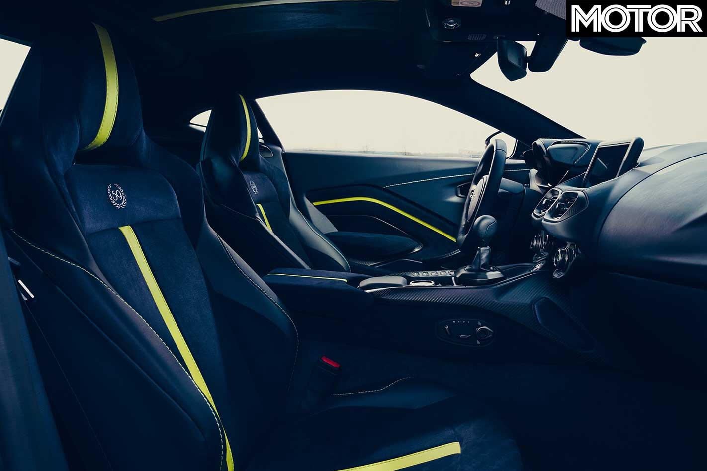 2020 Aston Martin Vantage AMR Interior Jpg