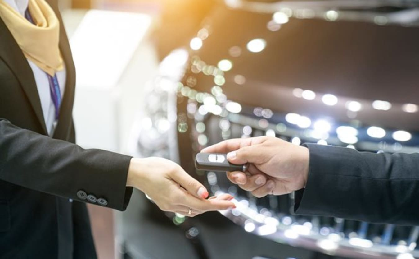purchasing from a car dealer