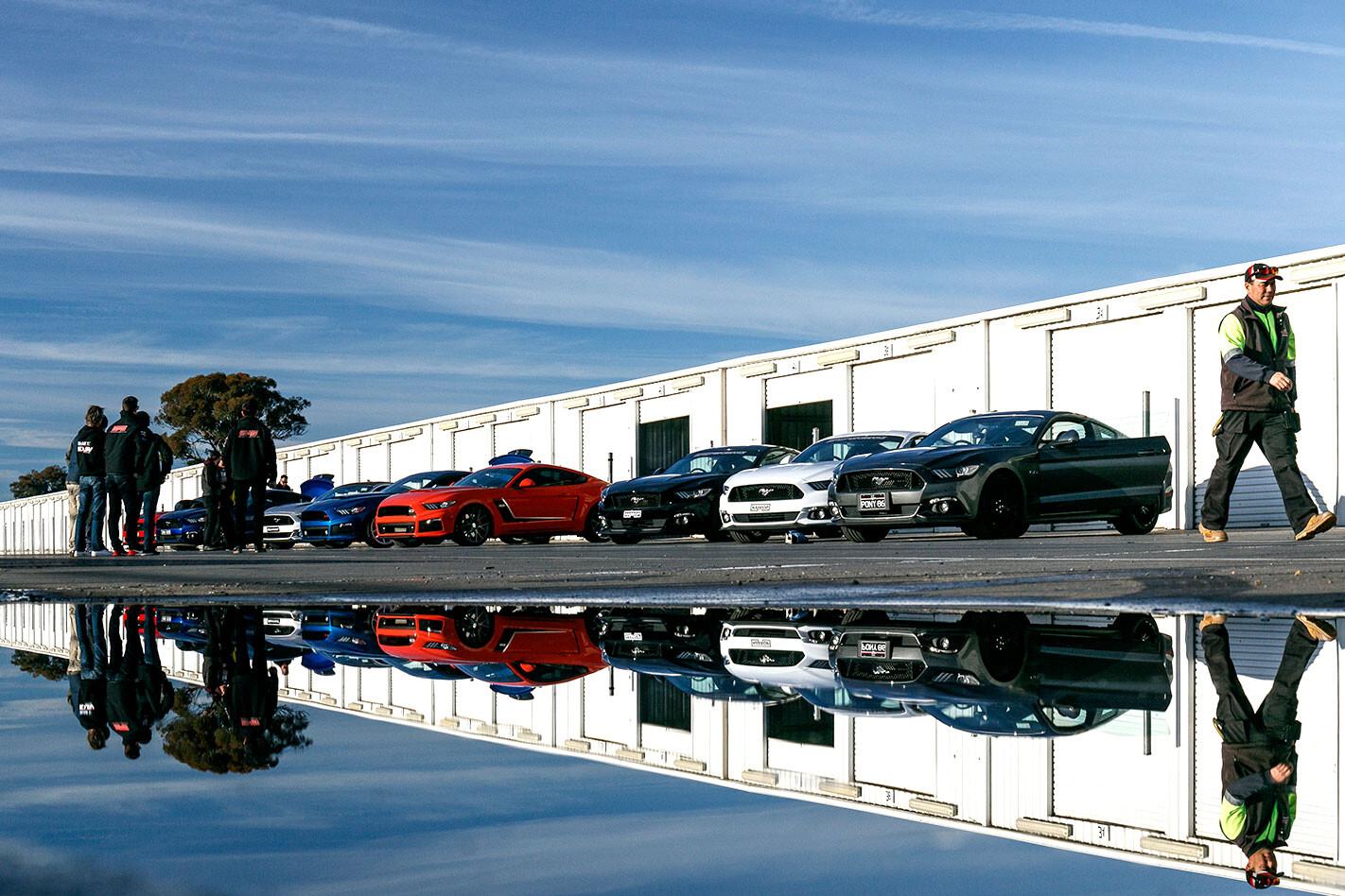 2017 Ford Mustang Tuner Mega Test Line Up Jpg
