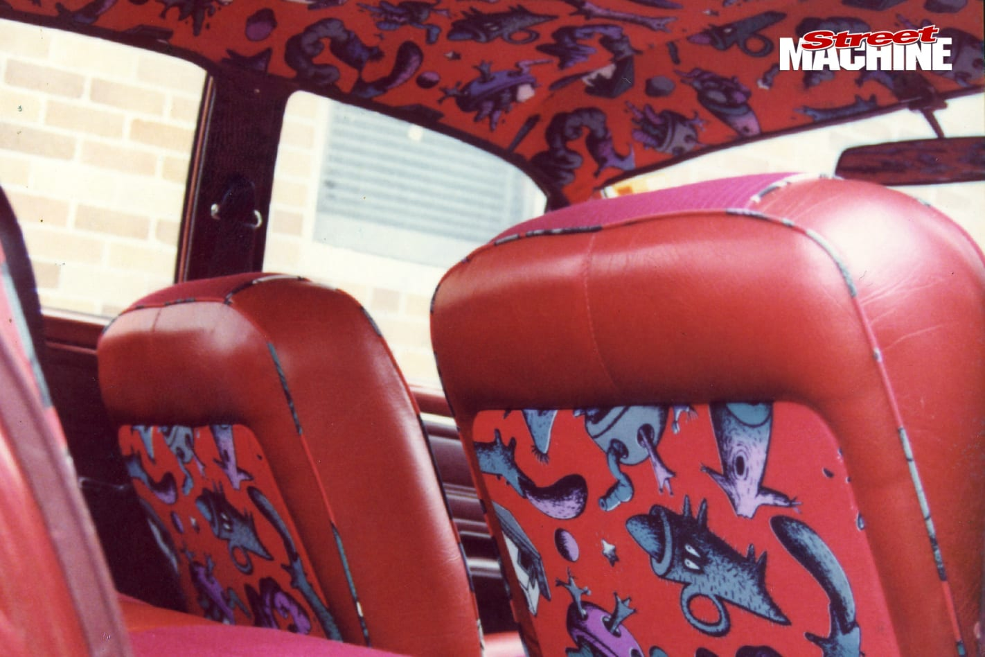 Ford -falcon -xt -interior