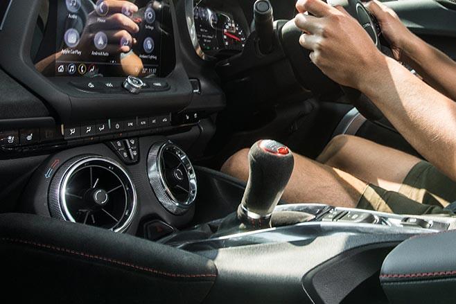 Chevrolet Camaro ZL1 manual
