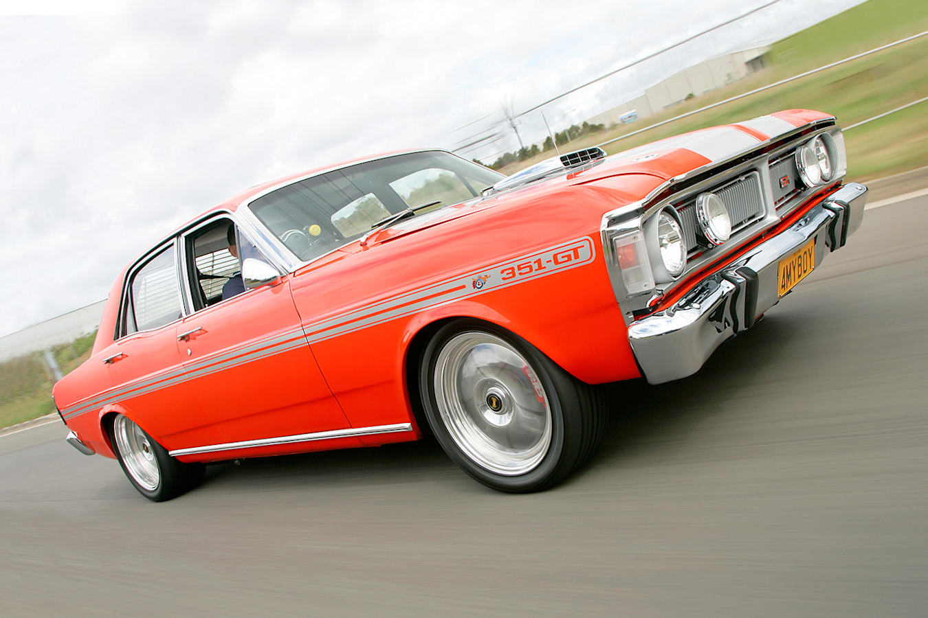 Ford Fairmont XY GT replica onroad