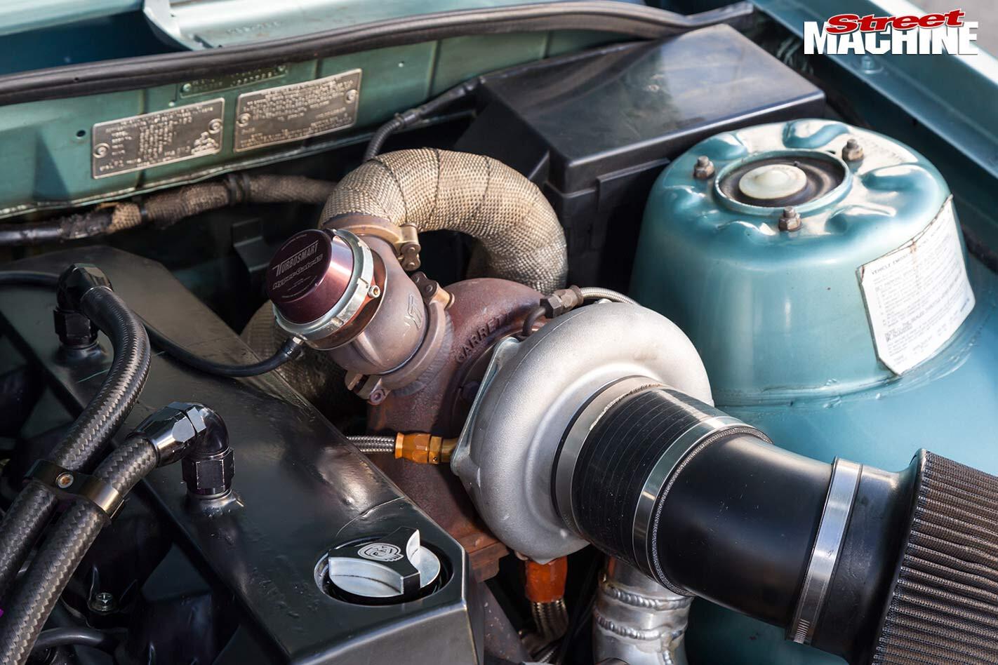 Holden VL Commodore engine bay