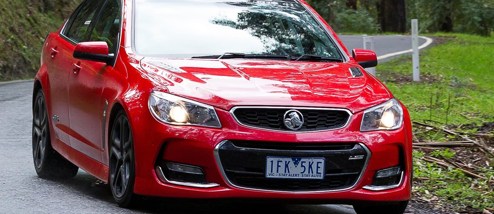 Holden Commodore VF II driving