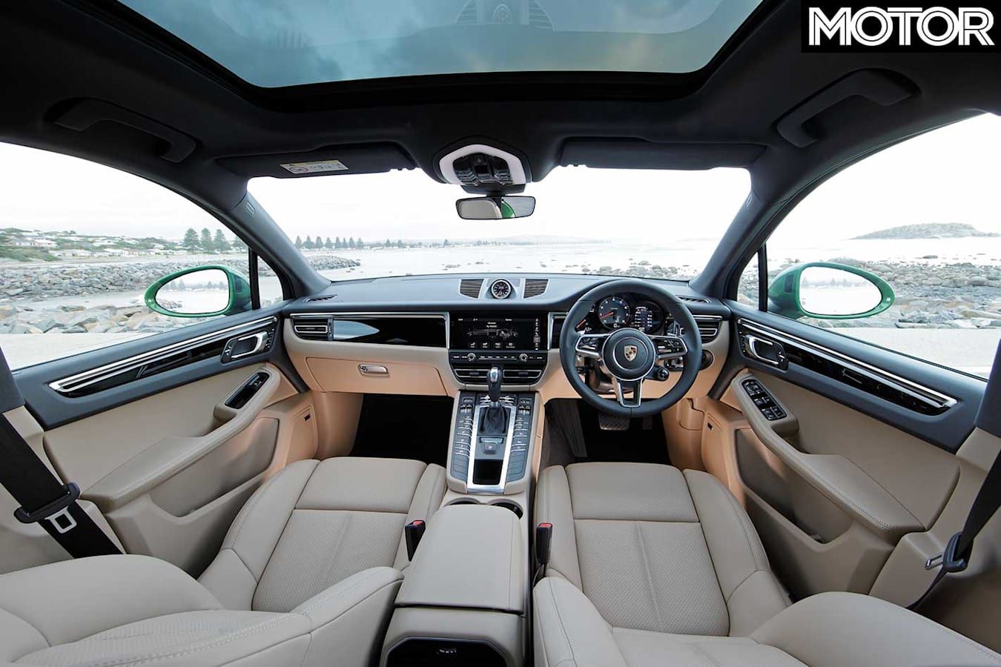 2019 Porsche Macan S Interior Jpg