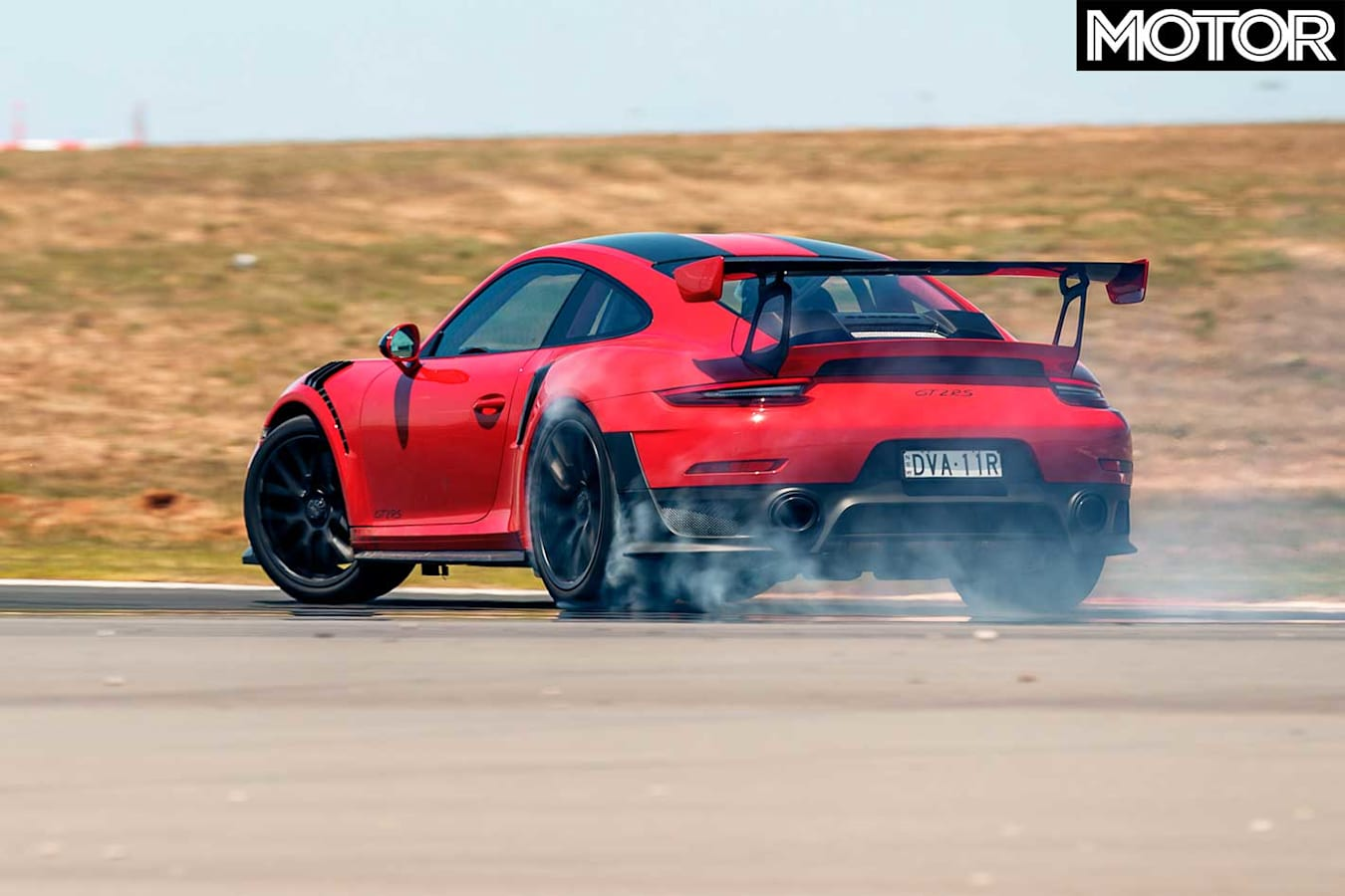 Performance Car Of The Year 2019 Porsche 911 GT 2 RS Track Test Side Handling Jpg