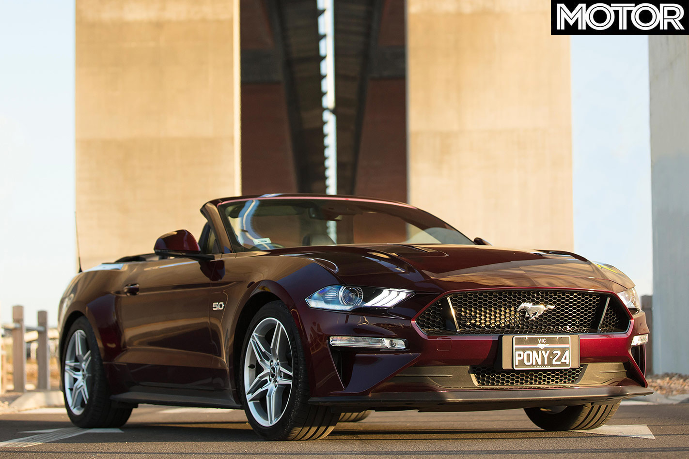 Ford Mustang front view