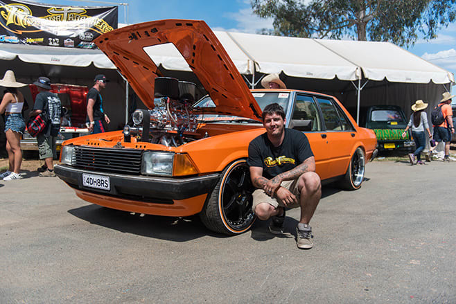 Robert Cottrell's Blown LS Powered XD Ford Falcon