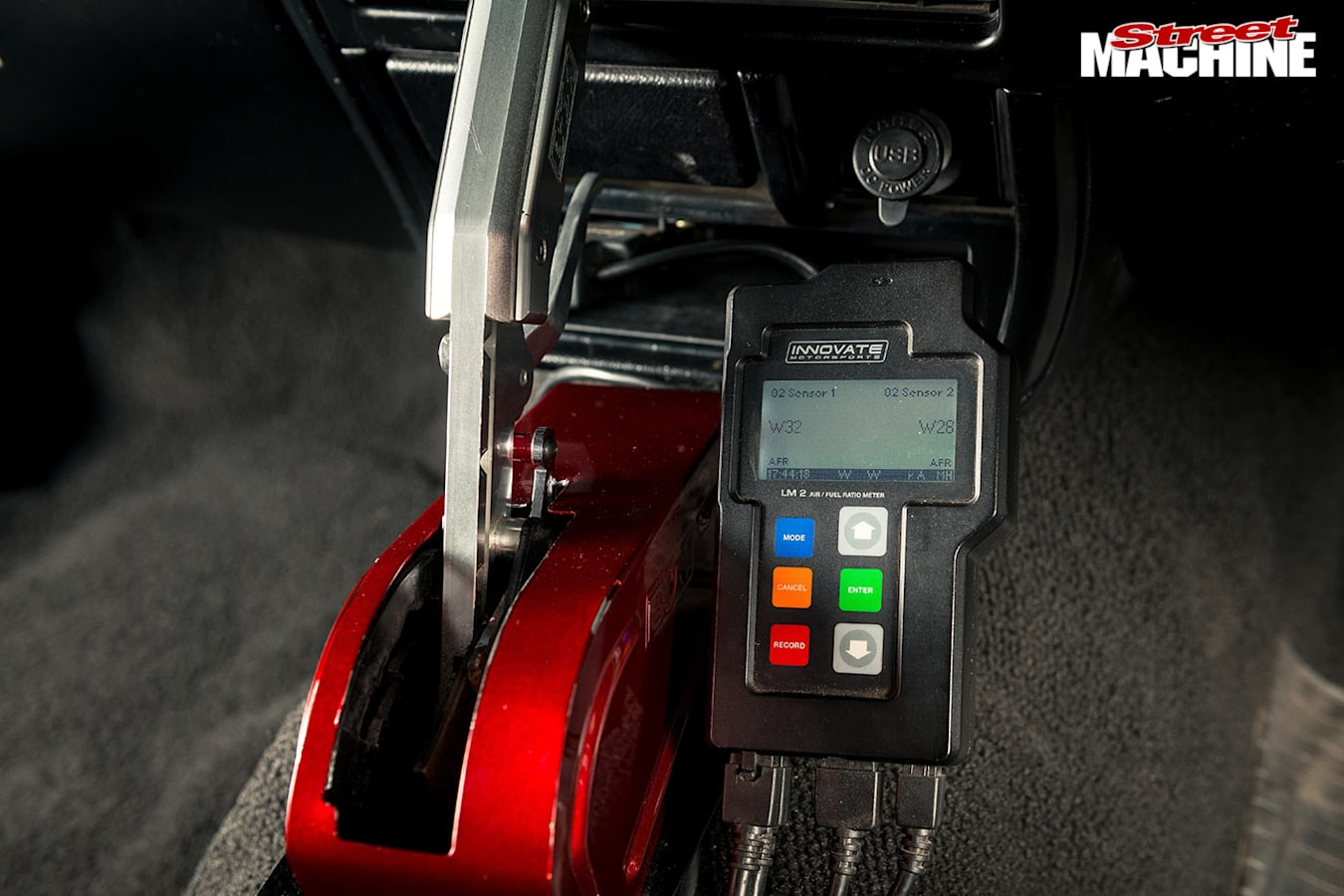 LS-powered Rodeo shifter