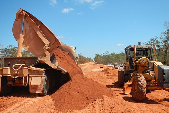 Dirt roads becoming bitumen