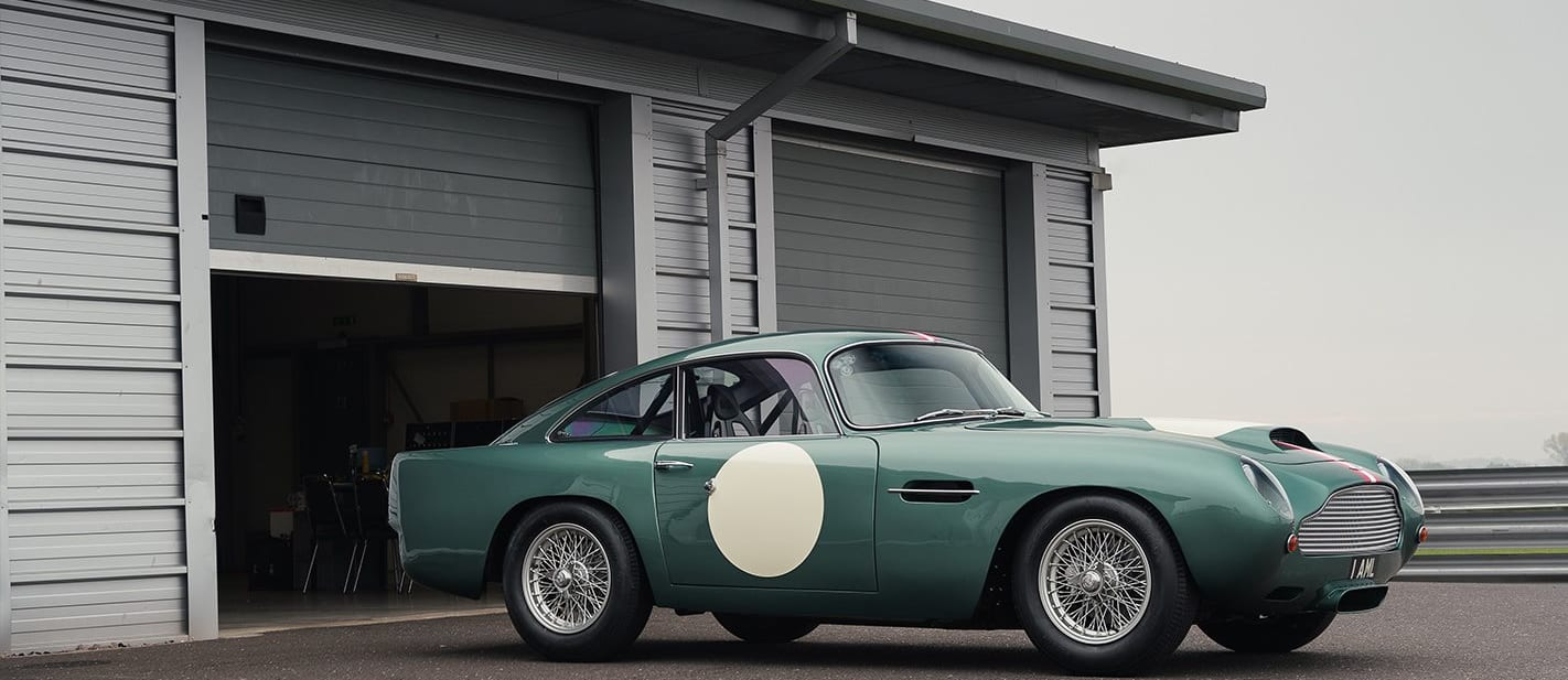 2017 Aston Martin DB4 GT Continuation review