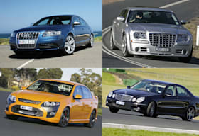 Five most affordable 300kW cars