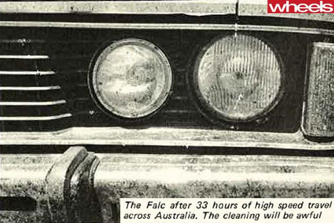1977-Ford -Falcon -headlights -dirty