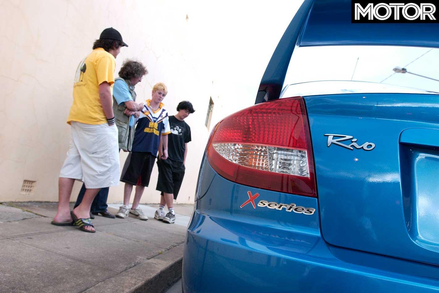 2005 Kia Rio Rear Jpg