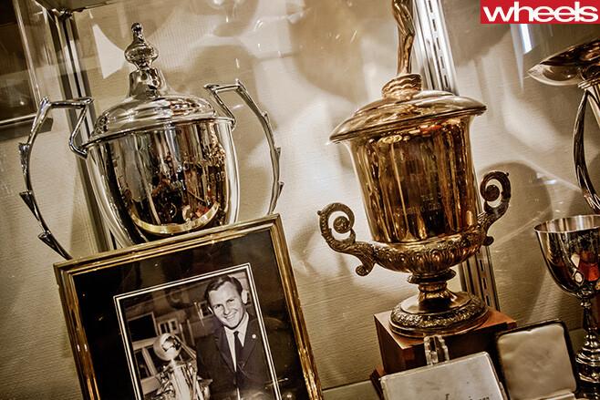 Bruce -Mc Laren -trophies