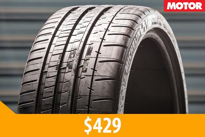 Michelin Pilot Super sport tyres