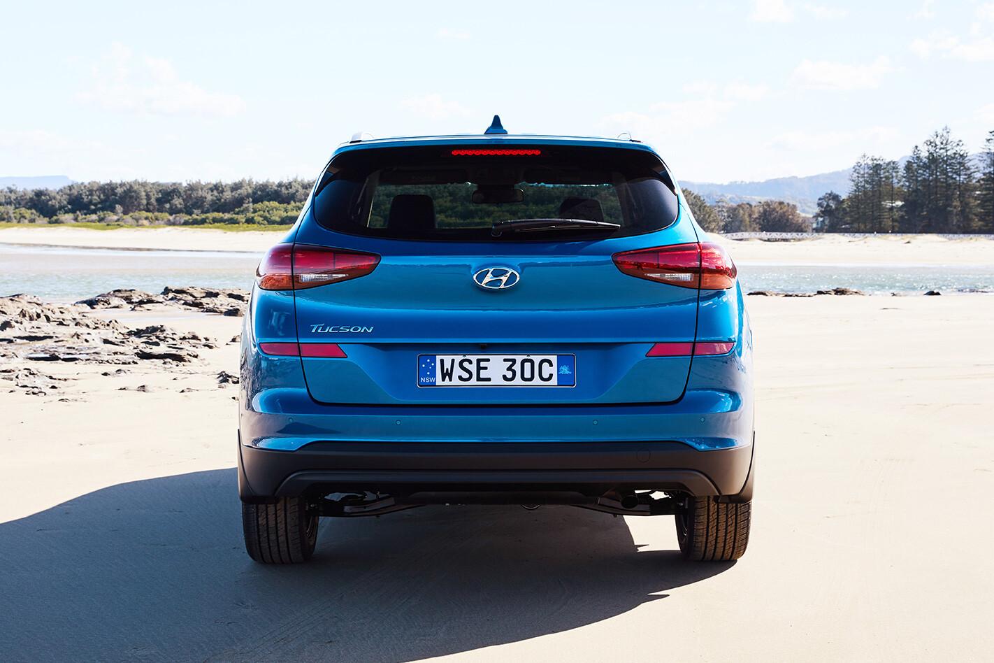 Hyundai Tucson CRDi Elite rear