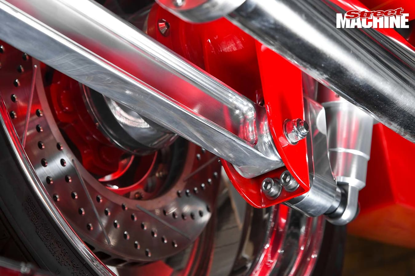 Chev Camaro brakes