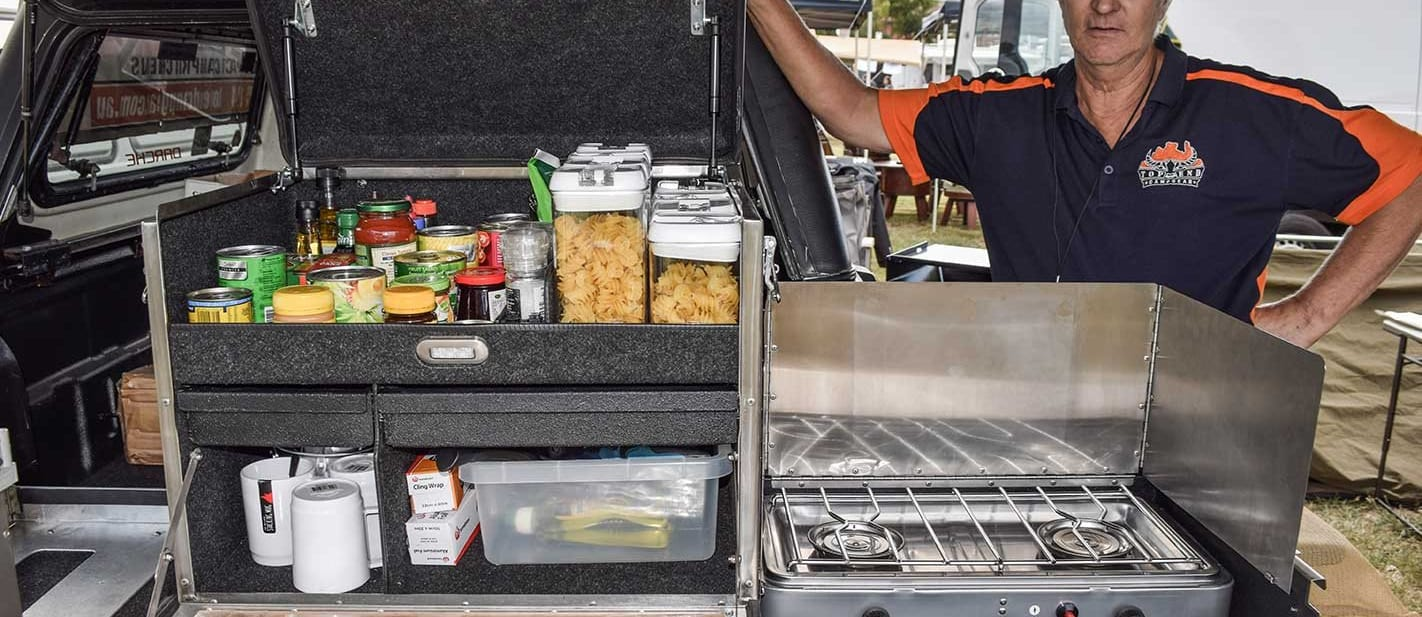 Top End Campgear Camp Kitchen product test