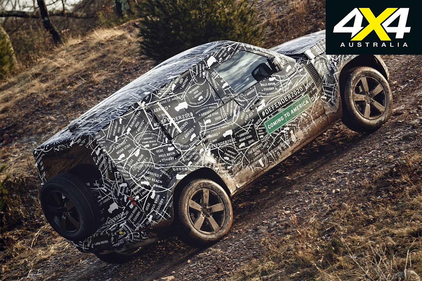2020 Land Rover Defender offroad