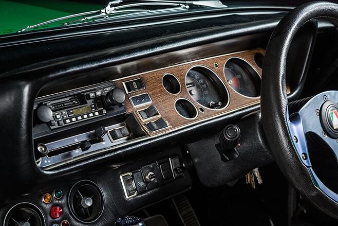 Ford Capri dash