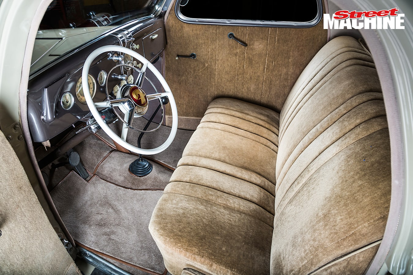 1936 Ford Coupe Interior 1 Jpg