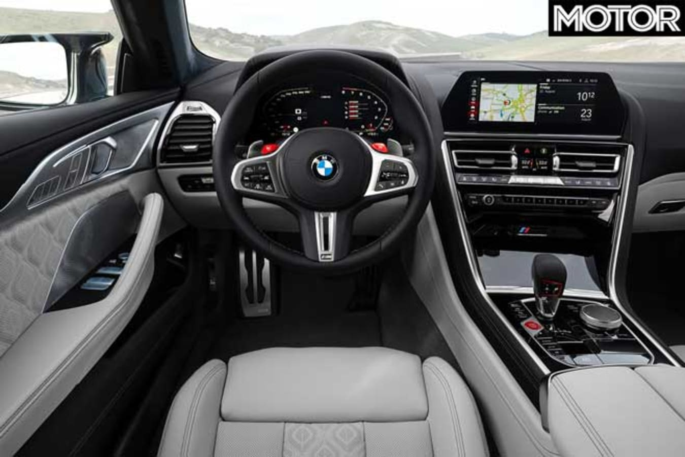 BMW M 8 Competition Gran Coupe Interior Jpg