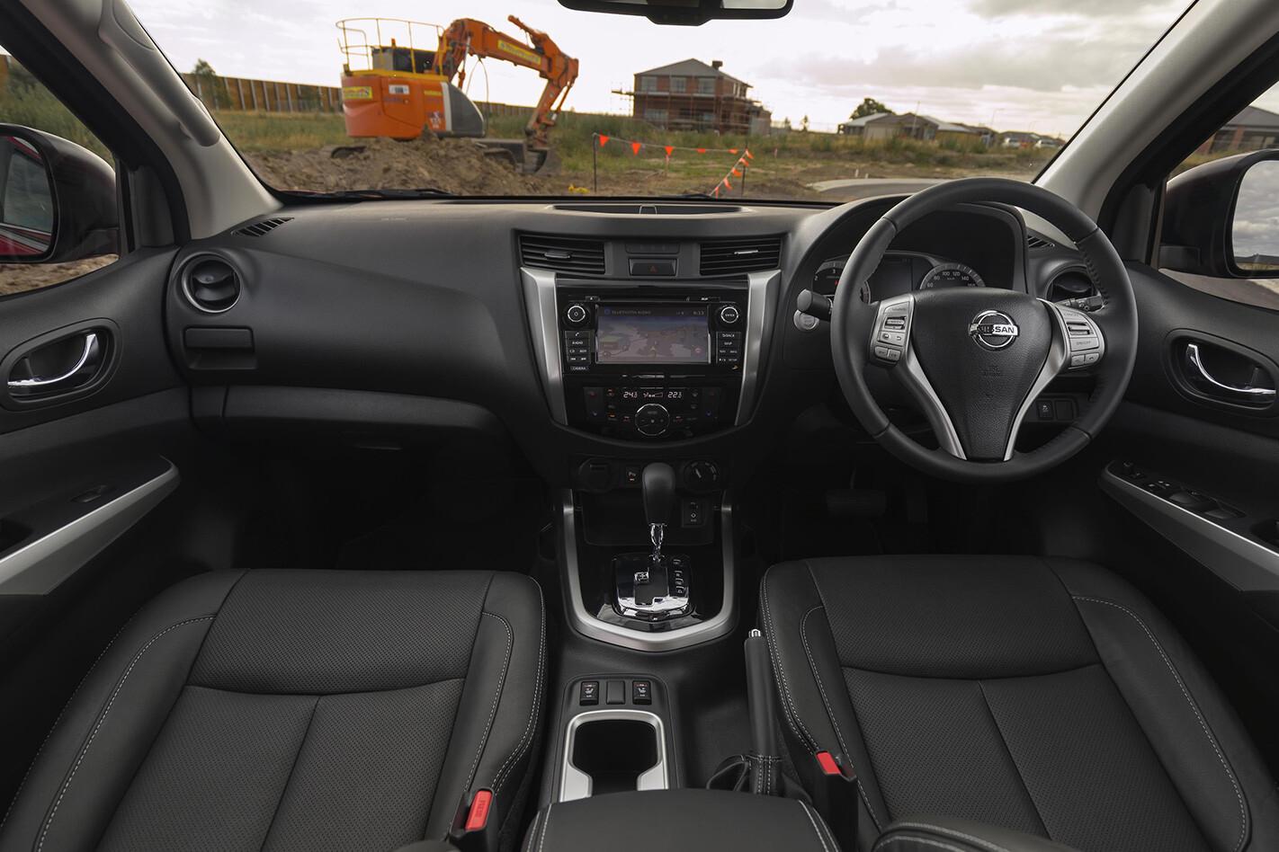 Nissan Navara Front Interior Jpg
