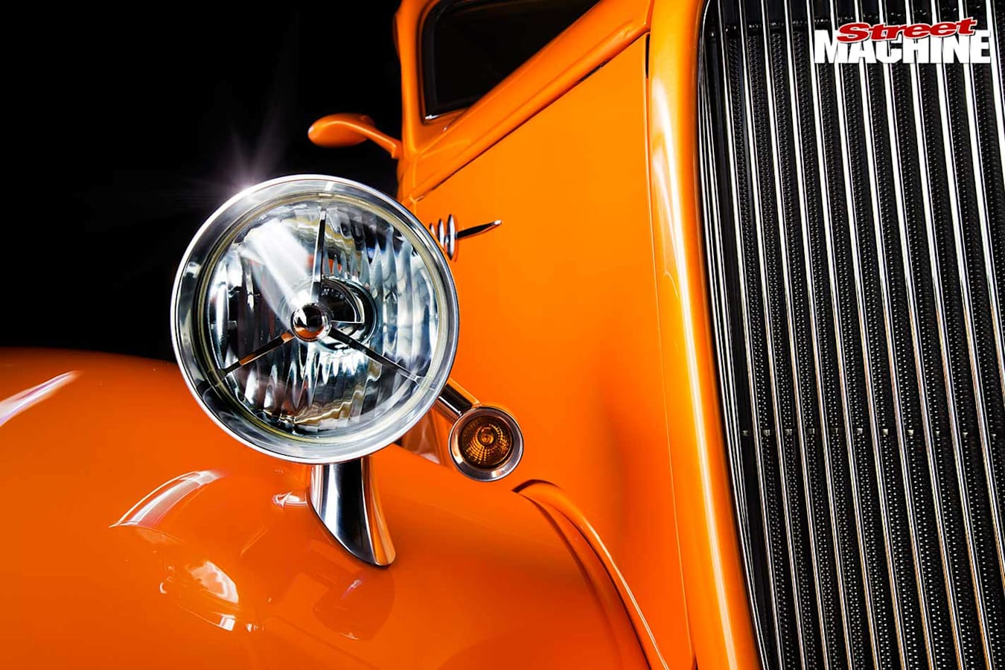 ford three window coupe headlight