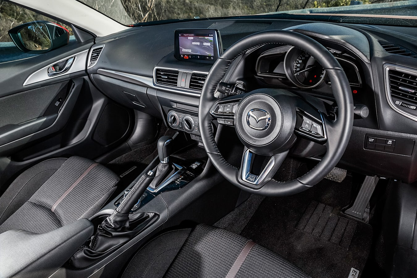Hatchback Three Way Mazda 3 Interior Jpg