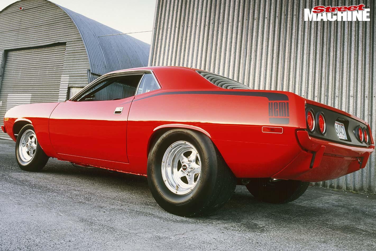 Plymouth Barracuda rear