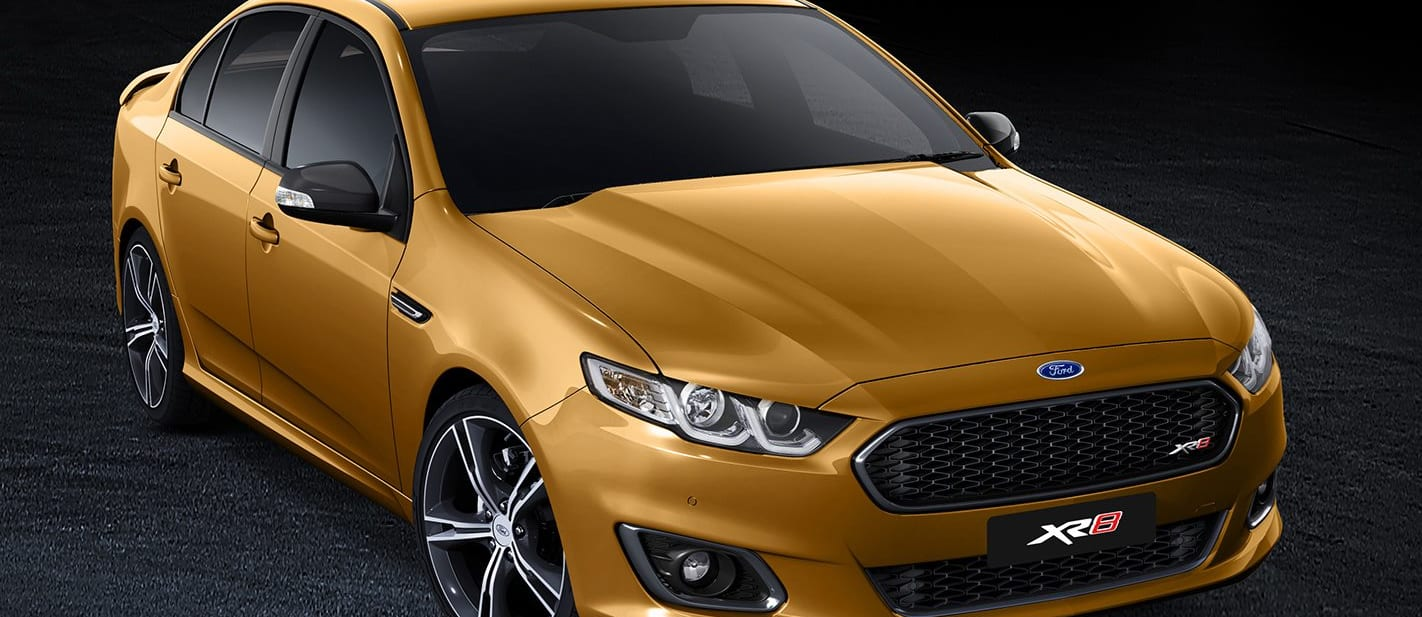 Ford Falcon XR 8 Front View Jpg