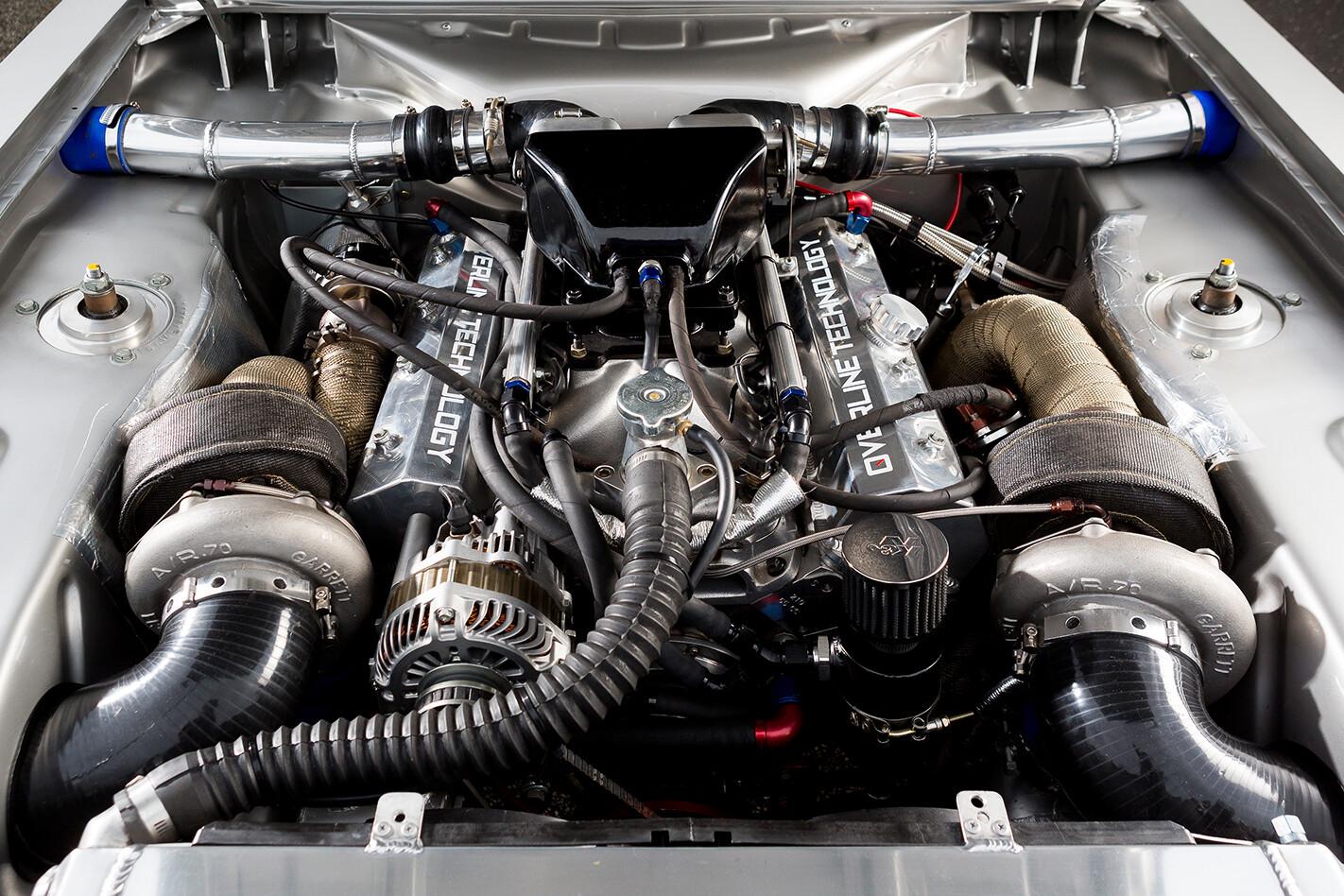 Ford -Capri -engine -bay