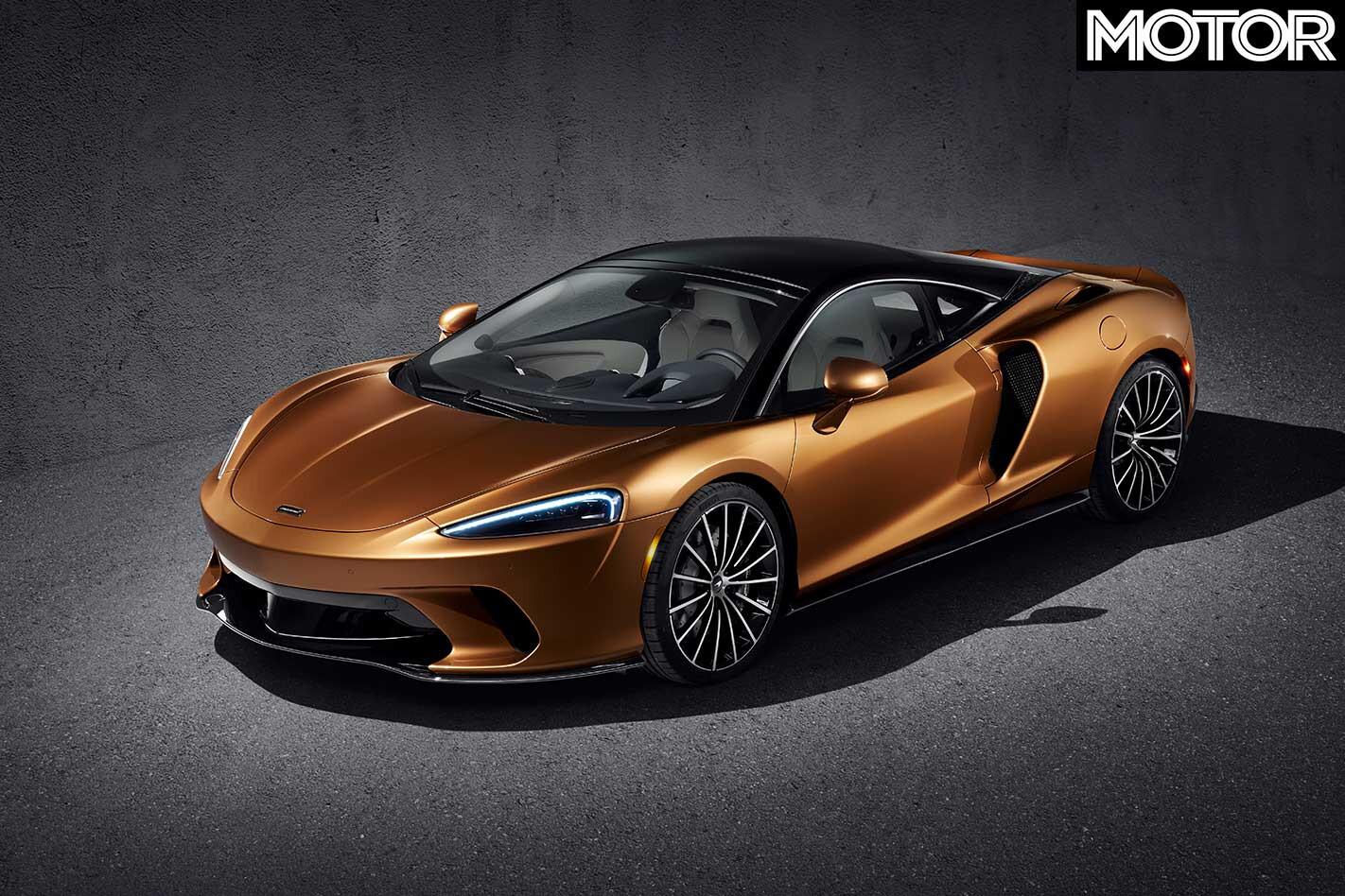 2020 Mc Laren GT Front Jpg