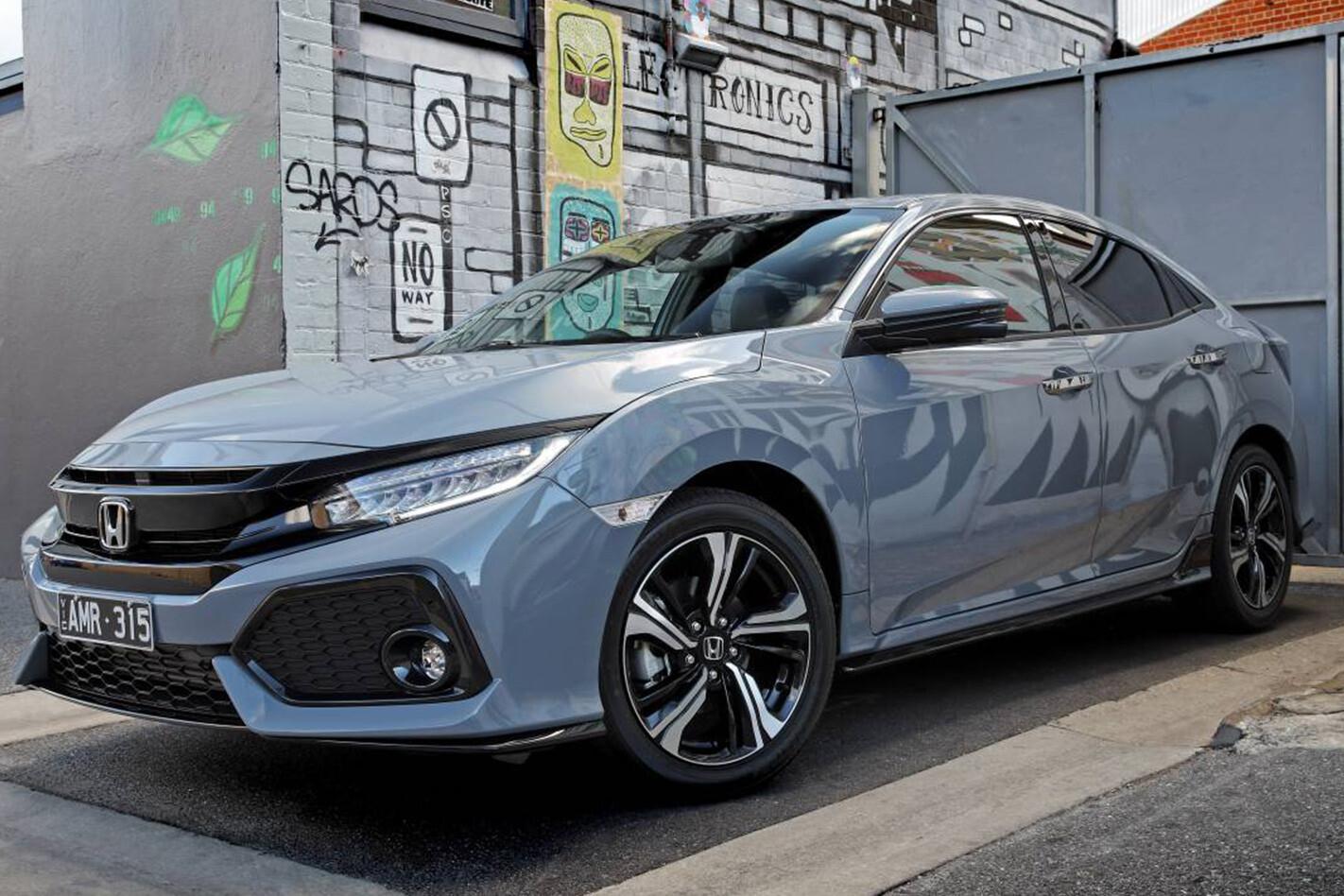 2017 Honda Civic RS front