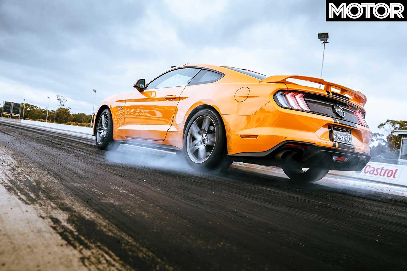 2018 Ford Mustang GT Drag Strip Burnout Jpg