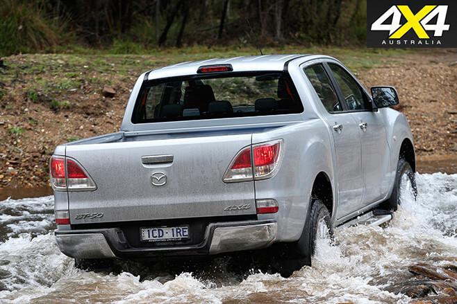 Mazda -bt 50-rear