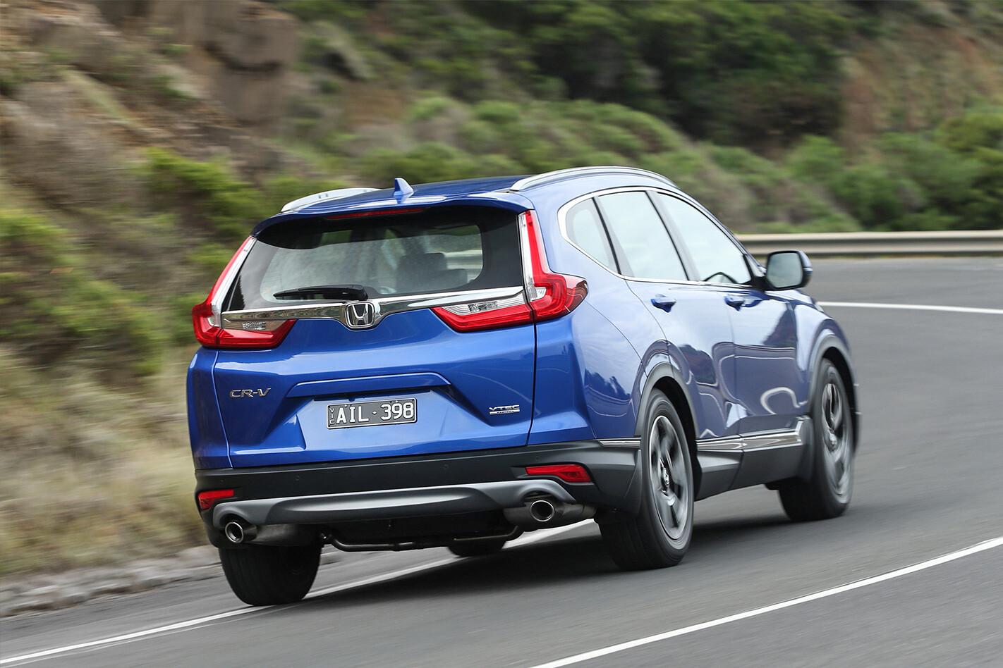 Honda Crv Rear Quarter Action Jpg