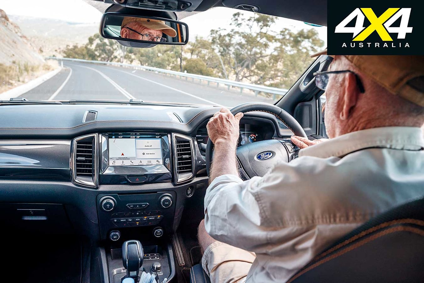 2019 Ford Ranger 2 0 Load And Tow Test Interior Jpg