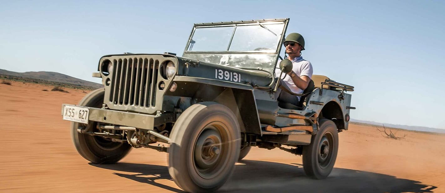 Jeep celebrates 75th anniversary with original Willys