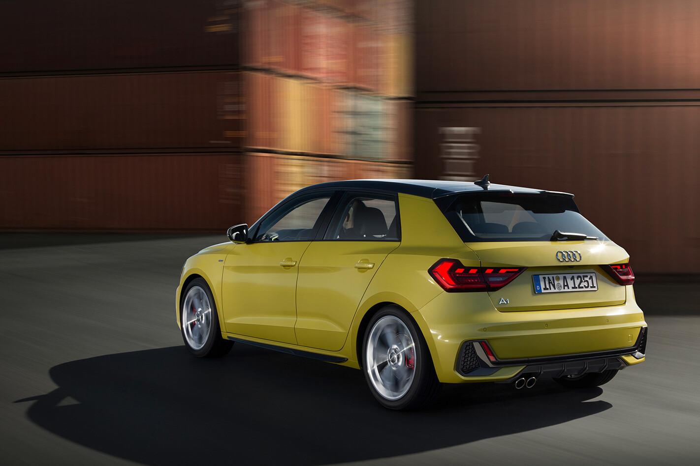 Audi A 1 Rearn Jpg