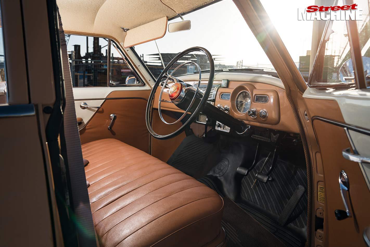 Holden FE interior front