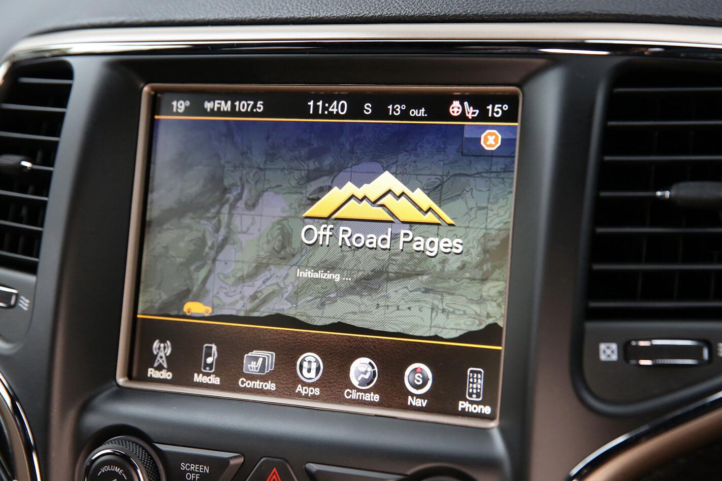 Jeep Grand Cherokee Interior Infotainment Jpg