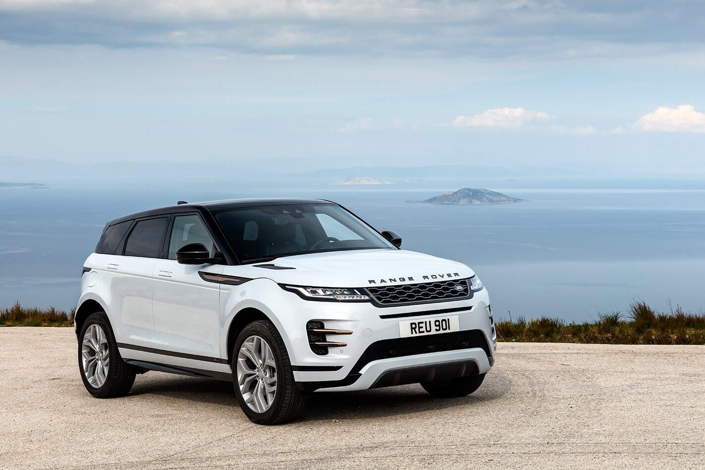 Range Rover Evoque Front Jpg