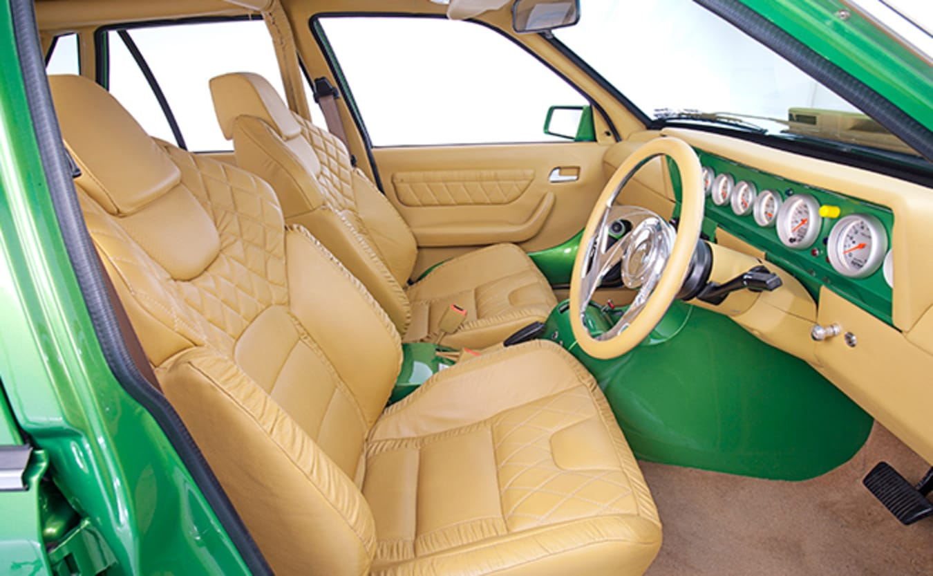 Holden VK Commodore interior front